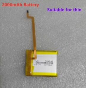 THIN 2000mAh Battery Upgrade Replacement For iPod Classic 6.5/7th &Video 5/5.5th