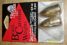 Brass Carolina Weights 3/4 oz