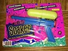 Larami Mini Soaker Super Soaker Water Gun Original 1992 NEW NOS RARE VHTF VTG