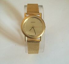 RODANIA Women's Vintage Fashion Gold Steel Bracelet & Case Quartz Watch