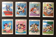MALI GREETINGS FROM DISNEY CHARACTERS STAMPS SET 1997 MNH MICKEY GOOFY DONALD