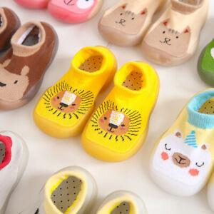 Kids' Baby Warm Toddler Anti-slip Slippers Socks Cotton Shoes