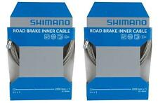 2x Shimano Sil-tec PTFE Coated Road Brake Inner Cable Dura-ace Teflon Y80098320