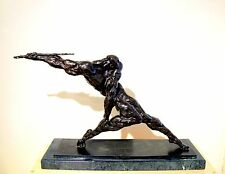 "Original  Bronze Javelin ""Thrower""  Anatoly S. Mikhailov  Signed Russian"