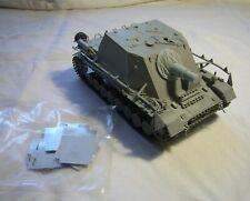 1:35 Sturmpanzer IV Brummbär mit Canvas Cover Set von DEF Model, gebaut,Ansehen!