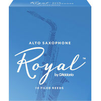Rico Royal Alto Sax Reed  Box of 10 10 High-quality Reeds - 2.5, New!