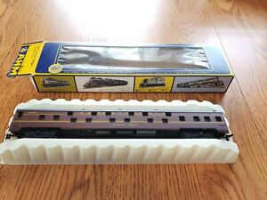 RIVAROSSI~ PENNSYLVANIA~ DUPLEX SLEEPER PASSENGER CAR-MORROW BROOK~HO SCALE