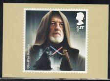 Great Britain Obi-Wan Kenobi Star Wars Royal Mail Stamp Card