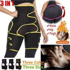 3 IN 1 Shapewear Body Burning Belt Shaper Slimming Waist Tummy Trainer Trimmer