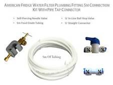 Américain réfrigérateur filtre à eau plomberie raccord 5M kit de connexion tuyau connecteur