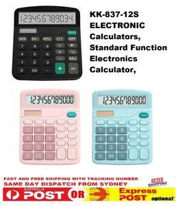 Electronic Calculators Standard Function Electronics Calculator 12 Digits