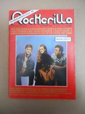 ROCKERILLA n°64 1985 Prefab Sprout Marillion The Nomads The Clash   [G872]