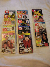 TV GUIDES~1991~Lot of 14~Good Condition