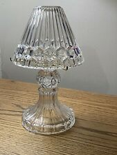 Partylite Astoria Tealight Lamp Gorgeous 24% Lead Crystal With Tealight P7761