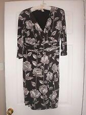 V-Neck Party 3/4 Sleeve Petite Dresses for Women