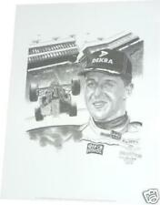 Michael Schumacher F1 World Champion Lithograph Benetton Ferrari