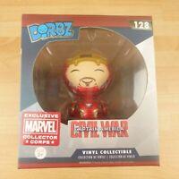 128 Funko Dorbz Marvel Civil War Captain America Iron Man Vinyl Figure