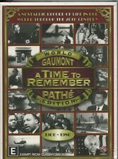 A TIME TO REMEMBER - WORLD - PATHE EDITION - 1900-1980 - 5 DISC SET