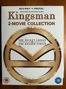 Kingsman 2-Movie Collection Blu-ray