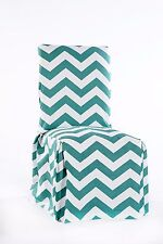 chevron dining chair cover Jade SET OF 2