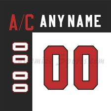 IIHF Team Canada Customized Number Kit for 100th Anniversary White Jersey