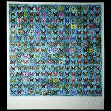 Blotter art Blue Butterflies Rafti
