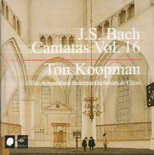 J.S. BACH: CANTATAS, VOL. 16 NEW CD