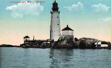 Boston,Massachusetts,Graves Light House,c.1909