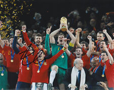 XABI ALONSO MADRID SPAIN 2010 WORLD CUP CHAMPS SIGNED AUTOGRAPH 8X10 PHOTO COA