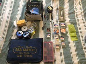 Mixed Sea Fishing Tackle Job Lot. Bass And Cod Rigs, Line Etc Bargain!!
