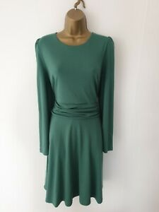 Boden Size 12 Green Smart Formal Occasion Party Work Office Dress - Womens