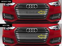 New Genuine AUDI A4 S4 Front Licence Plate Bracket Filler 8W0807287BRP5 OEM