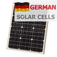 Panel Solar De 40W 12V con Cable 5m para camper/caravana/barco Módulo de 40 vatios