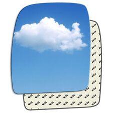 Left passenger side wing mirror glass Citroen Dispatch Mk2 2007 - 2016 132LS