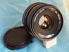 Per SAMSUNG NX (mirrorless) Yashica giapponese made 50mm f2 MF focale fissa!