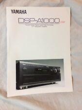 Yamaha DSP – A1000 Original Sales Brochure