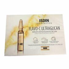 ISDIN ISDINCEUTICS Flavo-C Ultraglican Antioxidant 10 Ampoules x 2ml each New