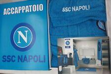 M ssc napoli Accappatoio inscatolato Spugna Azzurro
