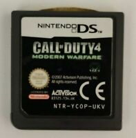 Nintendo DS 2DS 3DS Call of Duty 4 Modern Warfare - Free Postage