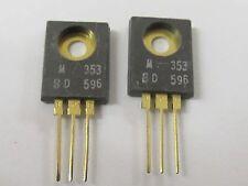 2 Stück - BD596 MOTOROLA PNP Transistor TO127 - 8A 45V 55W - 2x Audio Transistor