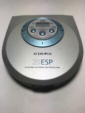 Audiovox DM8801-20k CD Compact Disc Player Tested 20 Esp