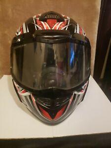 Polaris Red & Black AF 2.0 Full Face Snowmobile Helmet XL