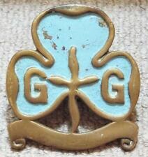 More details for ranger girl guides unit vintage flagpole topper brass finial