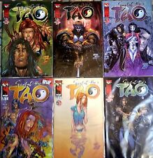 "Lot de 6 ""SPIRIT OF THE TAO""  Vol 1 n°10 à 15 (final) de 1999 - Version US"