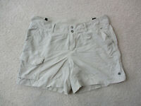Columbia Shorts Womens 8 Brown Outdoors Hiking Hiker Casual Ladies