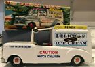 AHI TOYS No. 6543 Chevrolet Tin Friction Delicious Ice Cream Truck Japan 1960s