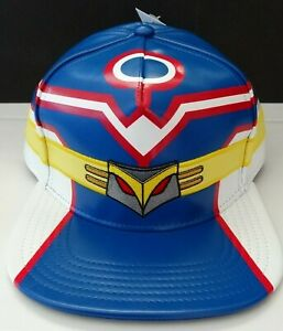 My Hero Academia Suitup Cosplay Anime Snap Back Hat Nwt