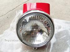 Honda S90 CD50 CD65 CL50 CL65 CL70 SL90 CT70 CT90K1 CF50 CF70 Head Light + Case