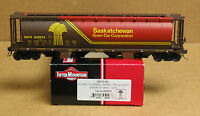 Intermountain 45122-55 HO Saskatchewan 4-bay cylindrical hopper SKPX #625074