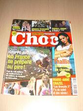 Entrevue Présente CHOC N°27 juin 2005 Thallia Marie-Anne Chazel Russell Crow